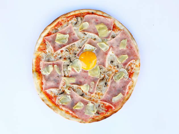 Presto Pizza -  Capricciosa