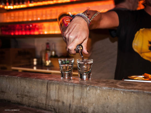 best tequila bars in london, del 74
