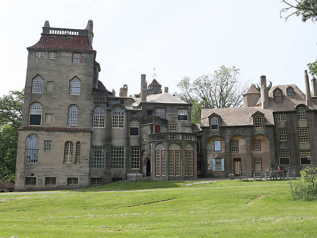 Fonthill Castle in Doylestown, PE