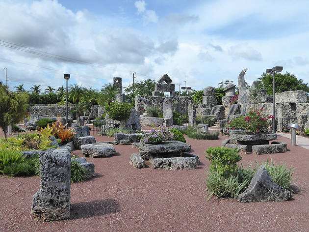 Coral Castle in Miami, FL