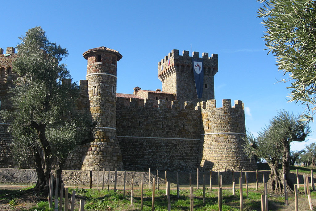 Castello di Amorosa in Calistoga, CA