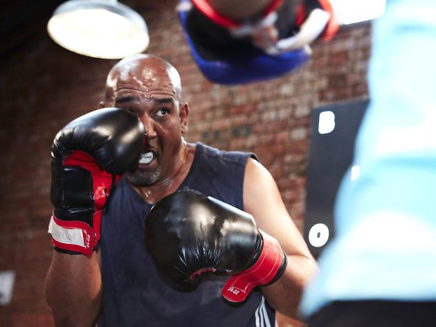 Boxing at Blok