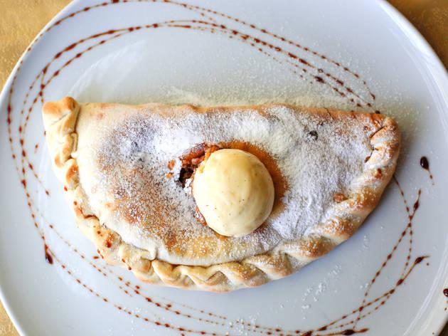 Mamma Mia - Calzone de ricota e maçã