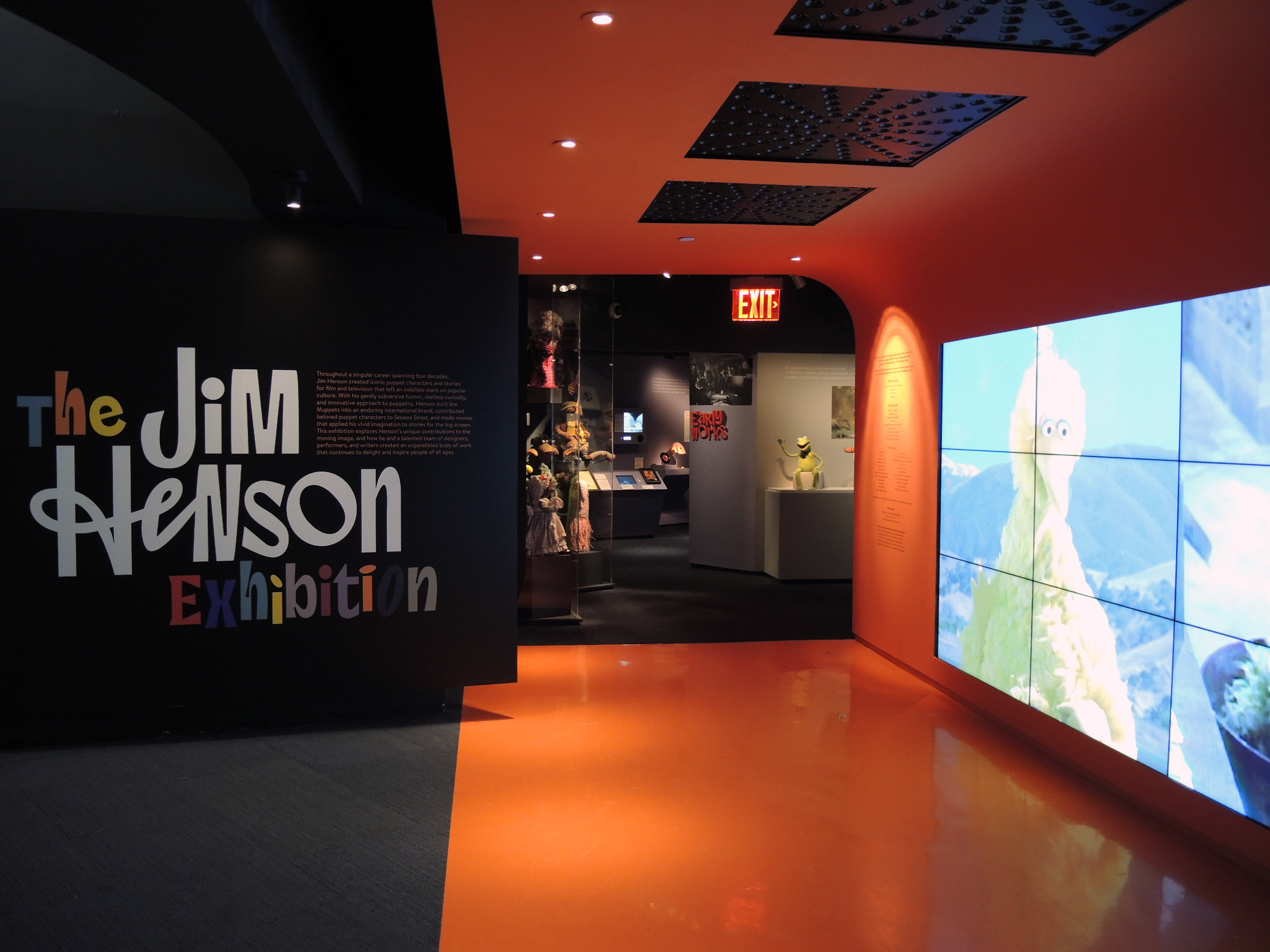The Jim Henson Exhibit