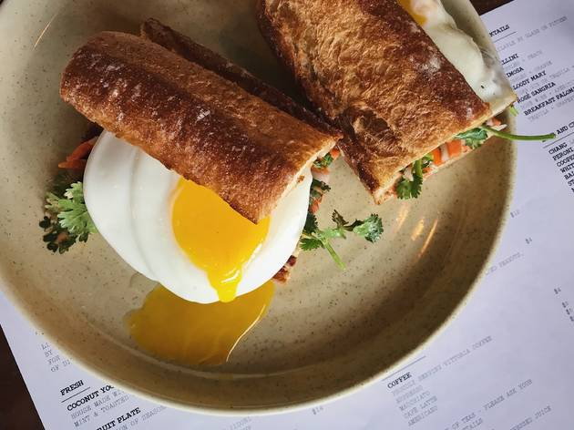 E.P.'s new brunch bánh mì