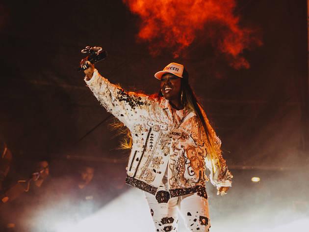Missy Elliott at FYF Fest 2017