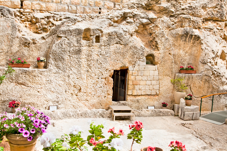 Location of Jesus' Entombment