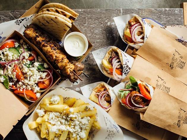 Greek Street Food Truck