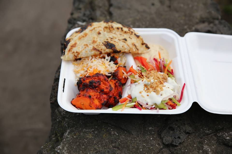 Yo India Tandoori chicken dish