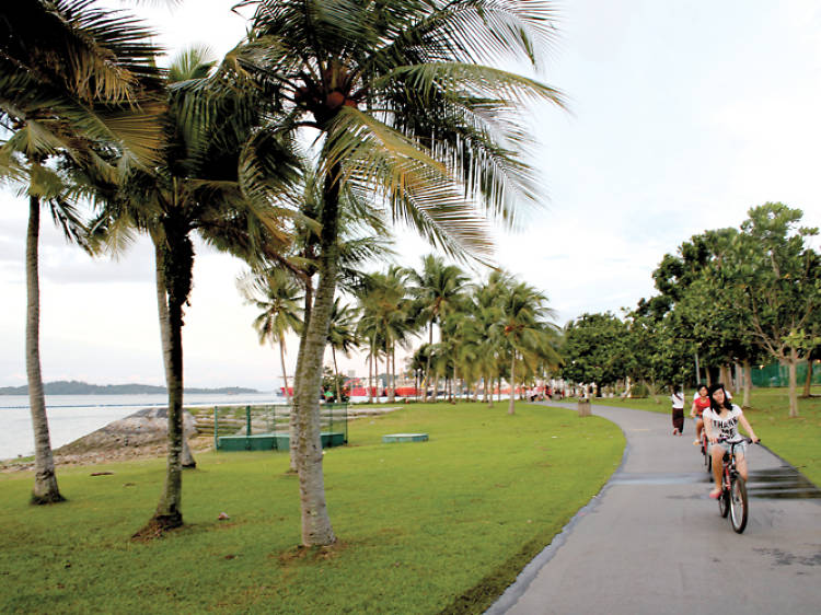 Cycling routes in Singapore: East Coast