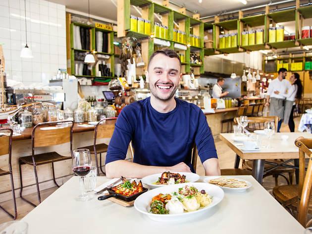Greek food and culture in London – Dimitris Ballas