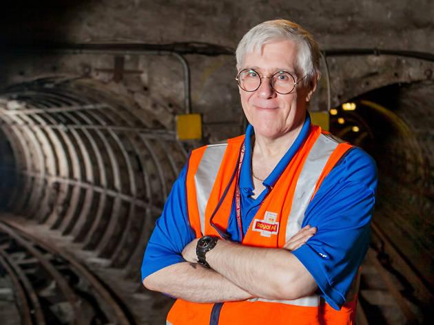 Mail Rail veteran Ray Middlesworth