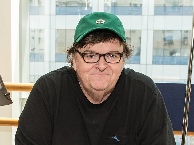 Michael Moore lights a fire under Broadway in his new solo show
