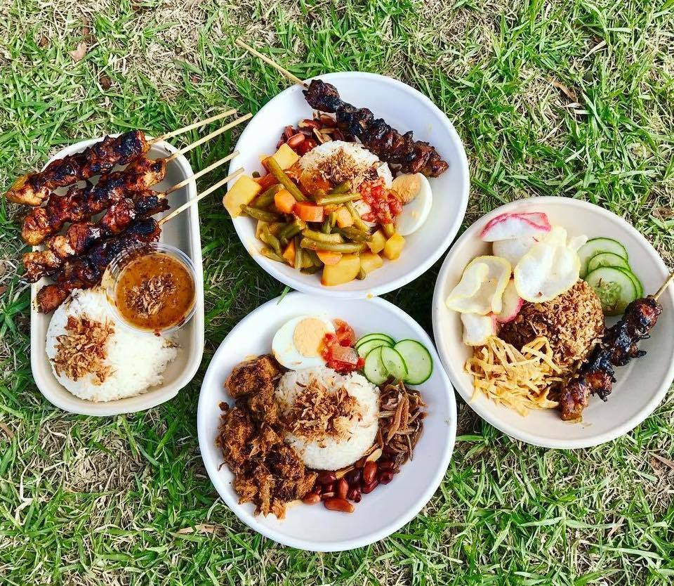 Satay Truck dishes