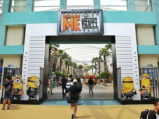 DESPICABLE ME Breakout Party at Universal Studios Singapore
