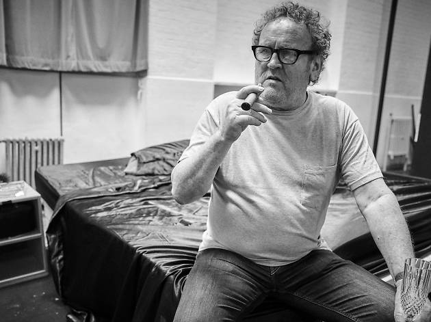 Colm Meaney in rehearsals for 'Cat on a Hot Tin Roof' © Charlie Gray