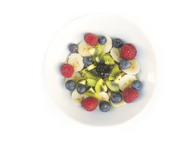 Iogurte com fruta e granola da Mesa 325