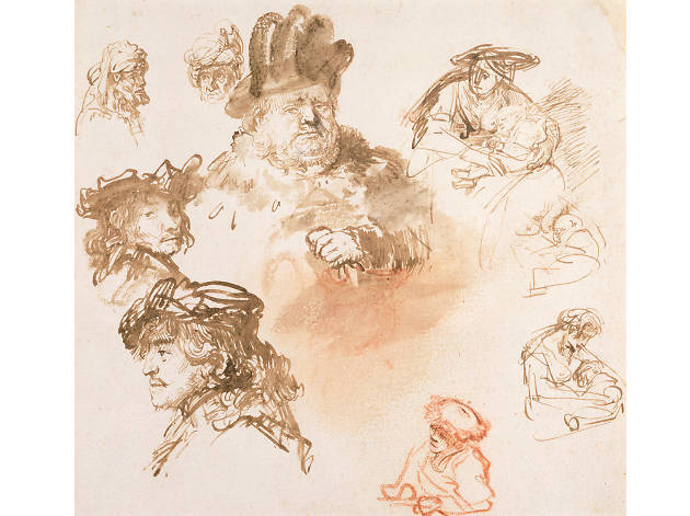 The Encounter: Drawings From Leonardo To Rembrandt