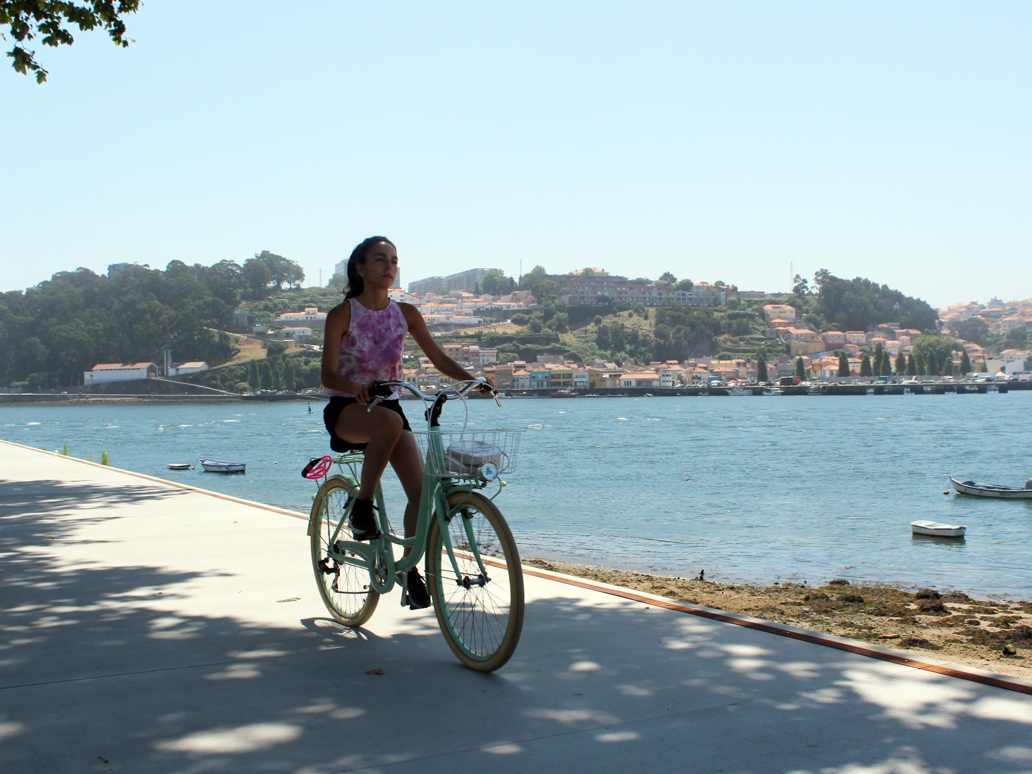 Andar de bicicleta na Foz é um bom programa