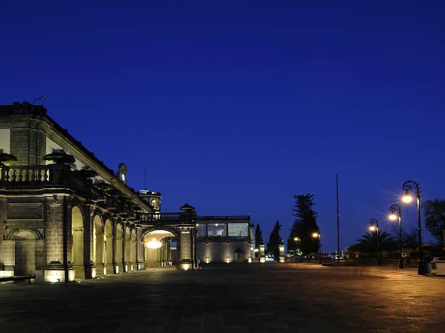 Explanada principal del Museo Nacional de Historia, Castillo de Chapultepec