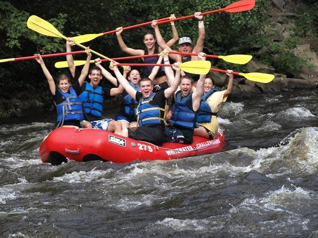 White Water Rafting the Lehigh River