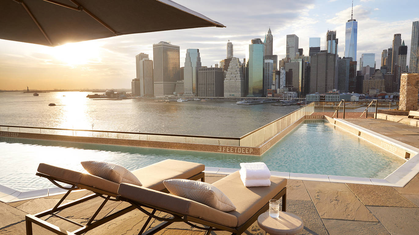 A gorgeous new rooftop pool opens to the public in Brooklyn this Saturday