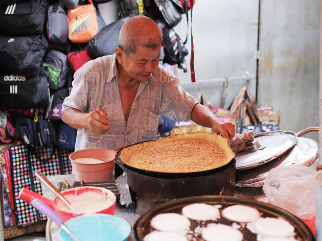 Jalan Hang Lekir stall apam balik