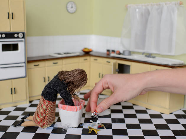 Play with friendly robots and miniature dolls in this interactive exhibition