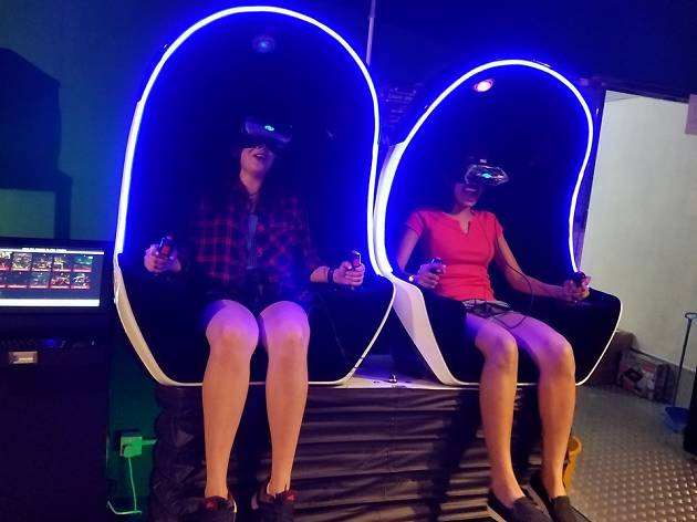 V-Owl Station VR Party 4D VR motion chair