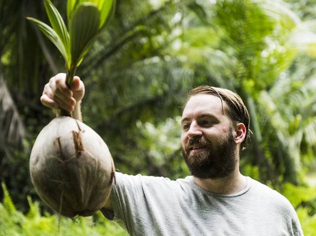 Foraging in Singapore with chef Florian Ridder