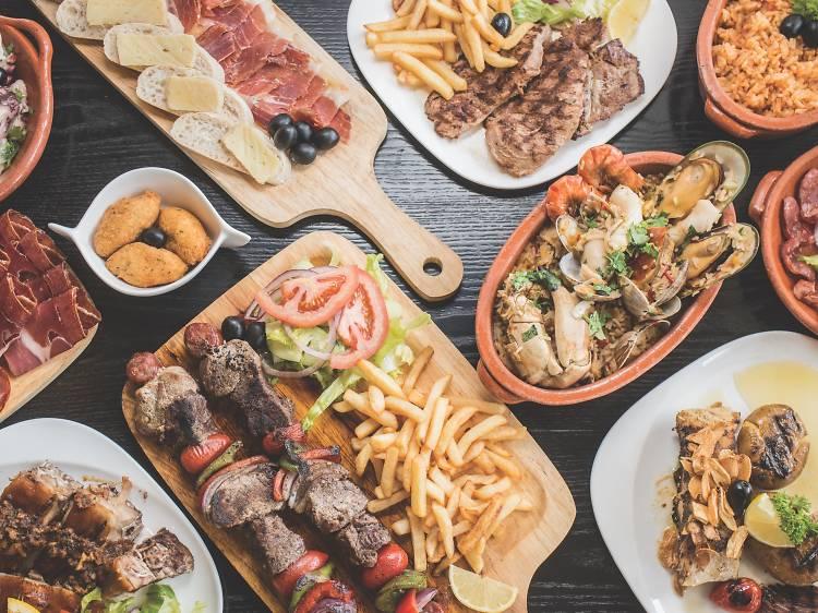 Grab dinner at Casa do Porco Preto