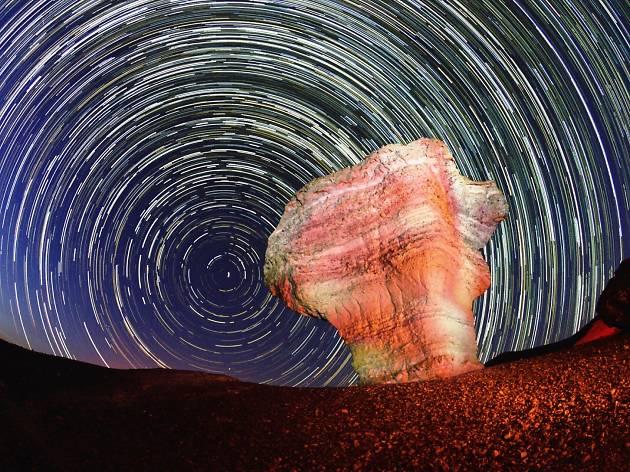 Stunning photos of Mitzpe Ramon under the stars