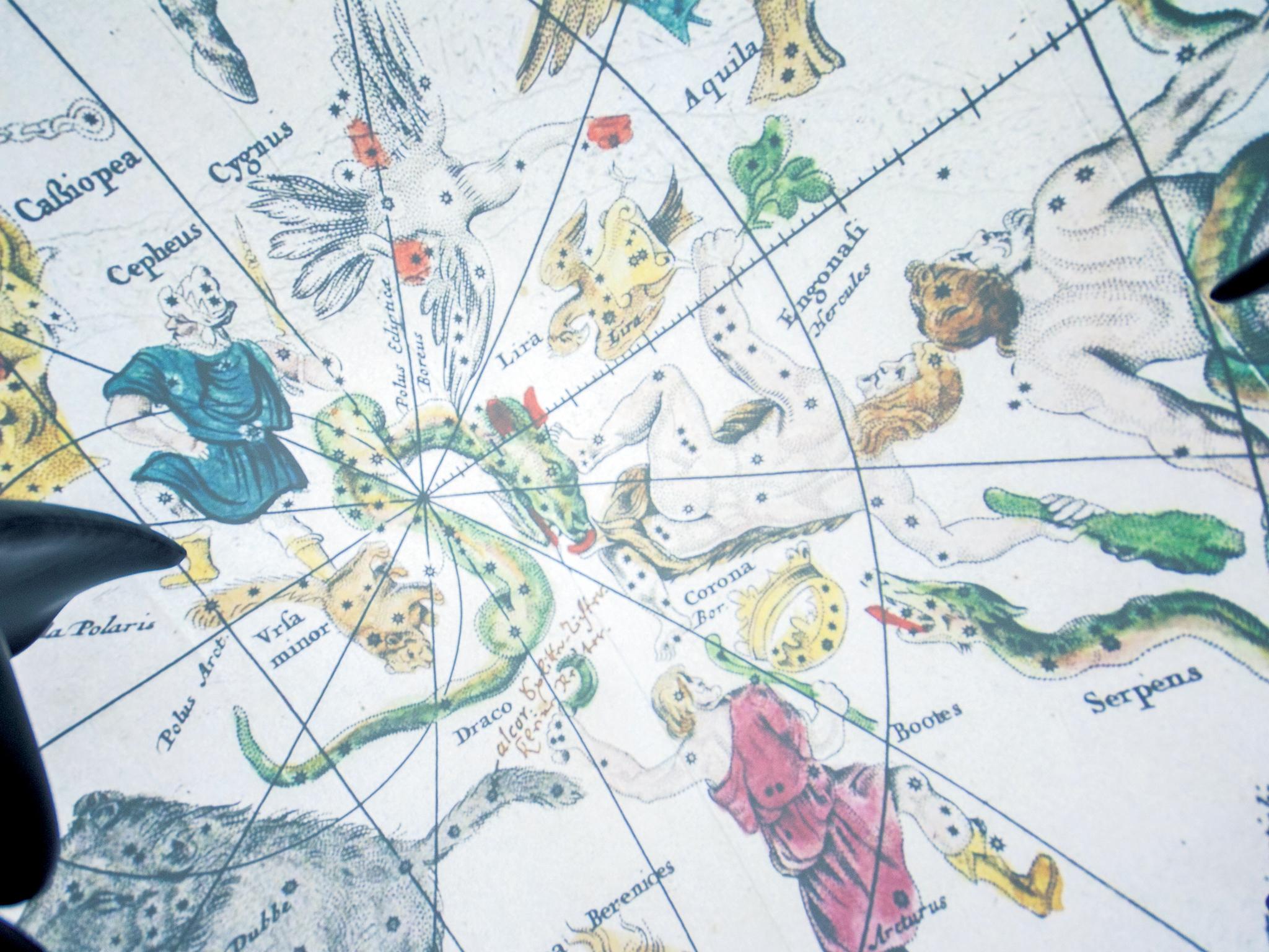 Planetario - Constelações