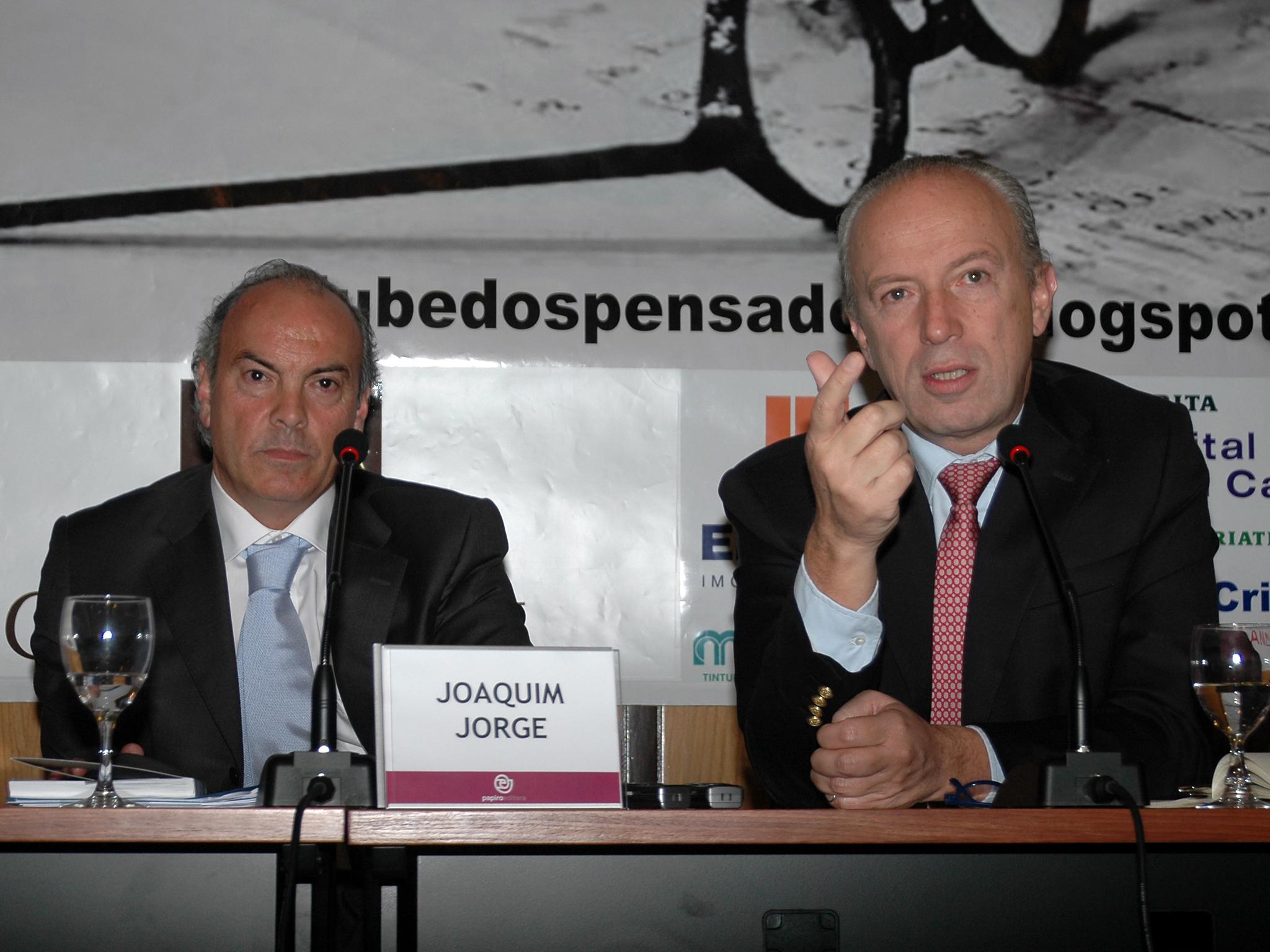 Clube de Pensadores - Joaquim Jorge