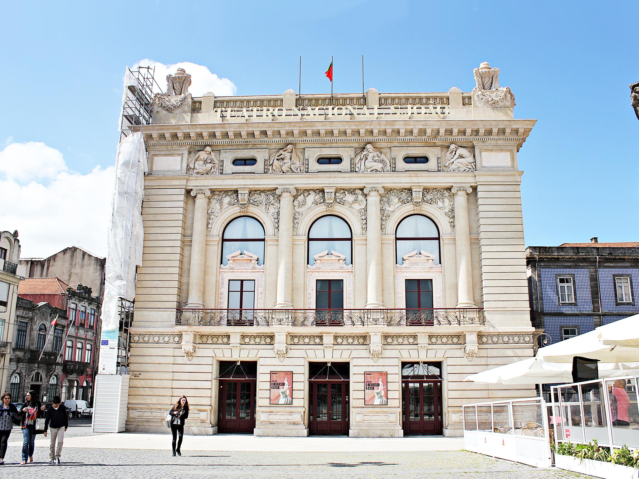 Teatro Nacional São João - Fachada