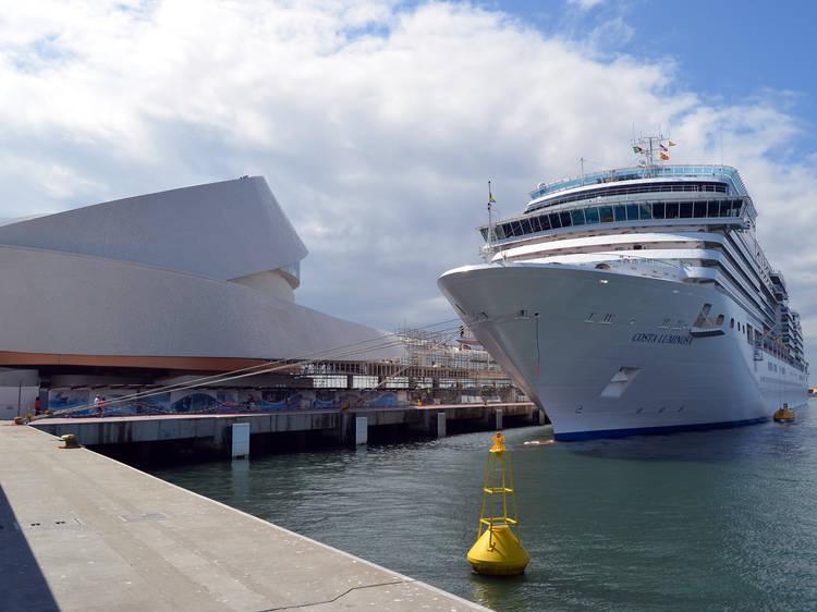 Cruise Terminal of The Port of Leixões