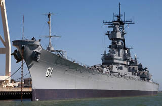 The San Pedro Craft Beer Festival takes place at the Battleship USS Iowa Museum