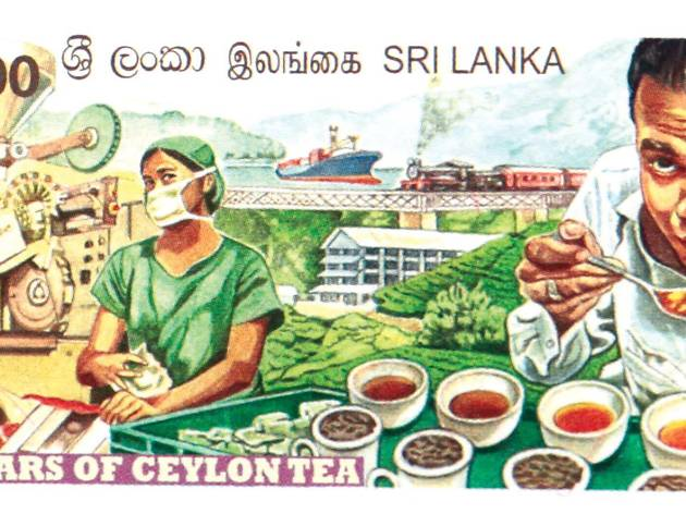 150 Years of Ceylon Tea – Stamped and Coined!