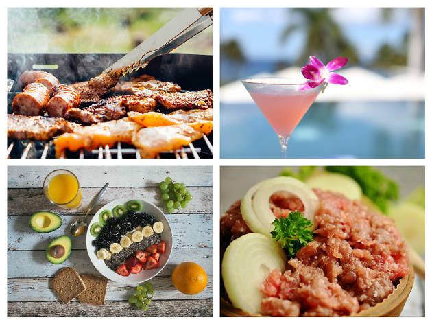 하와이안 레스토랑
