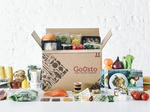 Gousto Recipe Boxes