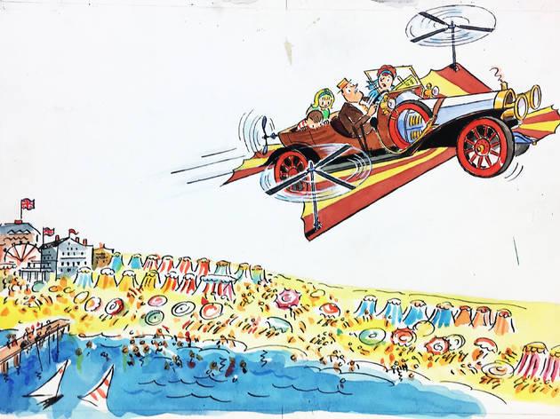 Chitty Chitty Bang Bang: The Magical Car Exhibit