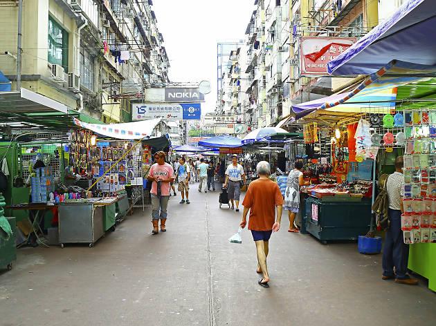 Sham Shui Po market,