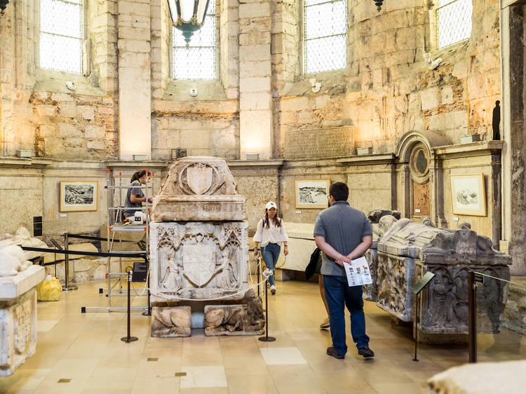 As múmias do Museu Arqueológico do Carmo