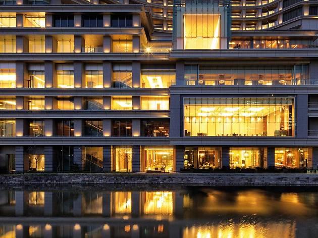 Palace Hotel Tokyo dusk