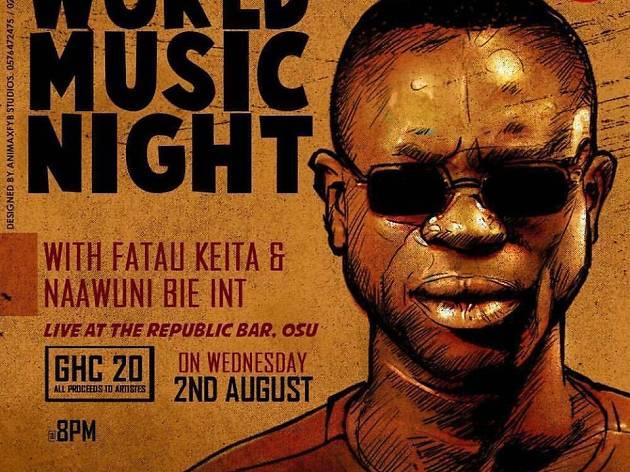 World Music Night at Republic Bar