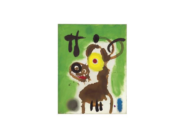 Joan Miró Mujer y pájaro