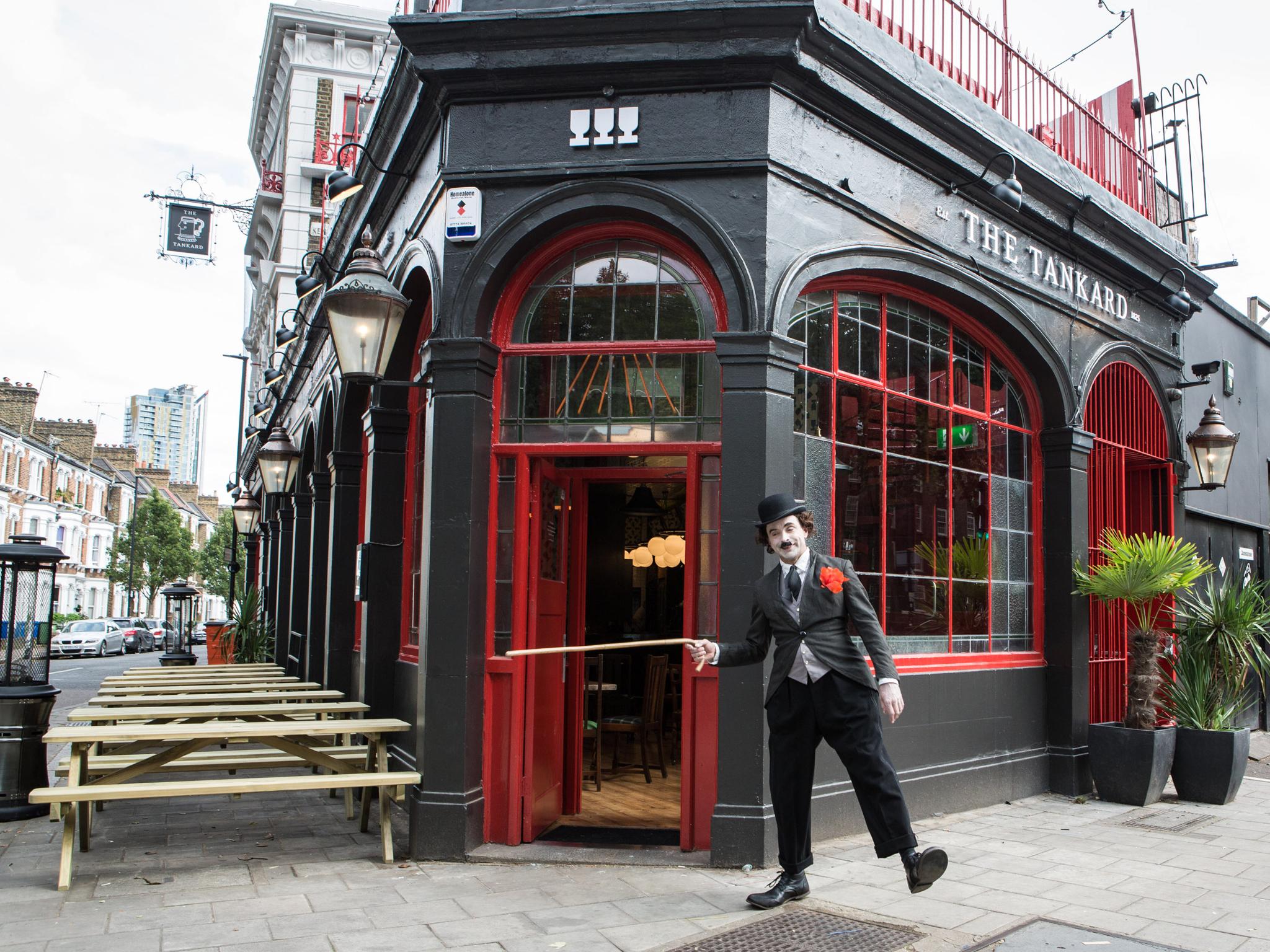 tribute pub, charlie chaplin