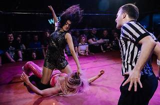 'l'll put my fanny where I want!' Inside Bethnal Green's all-woman wrestling night