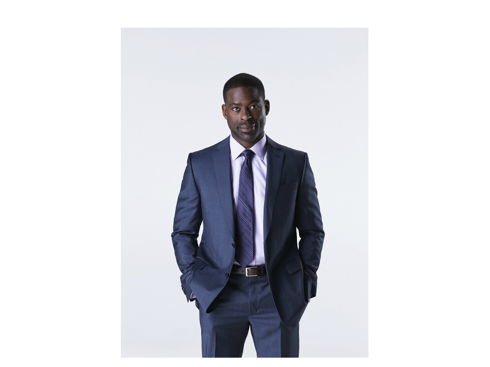 Fotografía del actor Sterling K. Brown
