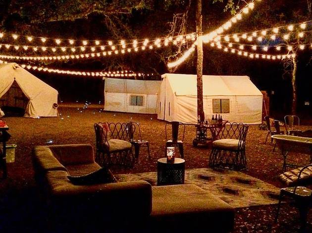 "You can now go ""glamping"" in the Rockaways"